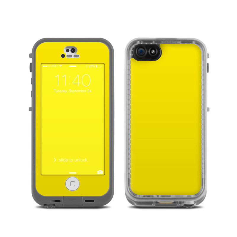 LifeProof iPhone 5C Fre Case Skin - Solid State Yellow by ...