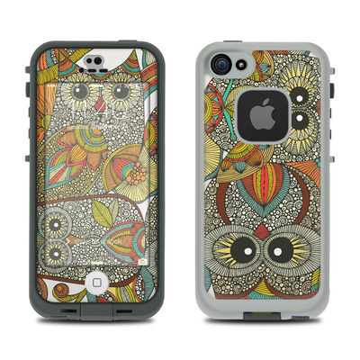 LifeProof iPhone 5S Fre Case Skin - 4 owls