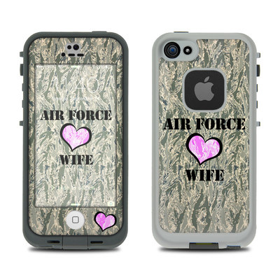 LifeProof iPhone 5S Fre Case Skin - Air Force Wife