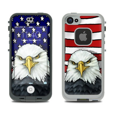 Lifeproof iPhone 5S Fre Case Skin - American Eagle