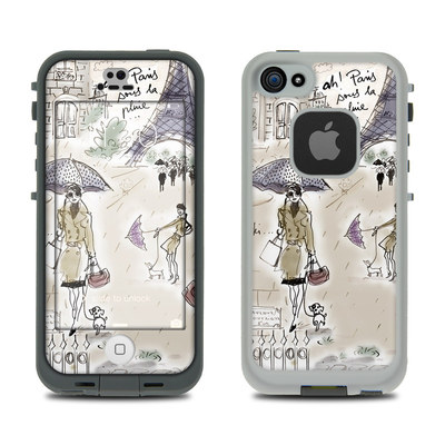 LifeProof iPhone 5S Fre Case Skin - Ah Paris