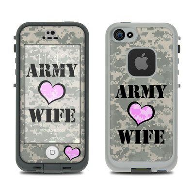 LifeProof iPhone 5S Fre Case Skin - Army Wife