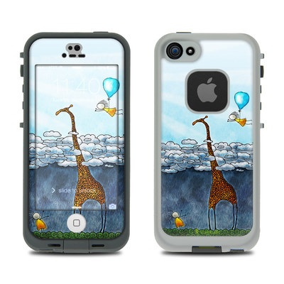 LifeProof iPhone 5S Fre Case Skin - Above The Clouds