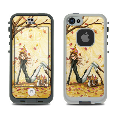 LifeProof iPhone 5S Fre Case Skin - Autumn Leaves