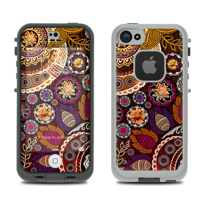 LifeProof iPhone 5S Fre Case Skin - Autumn Mehndi