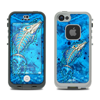 LifeProof iPhone 5S Fre Case Skin - Barracuda Bones