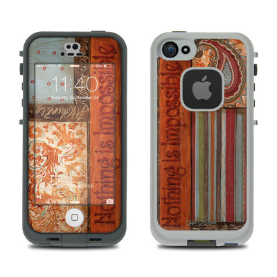 LifeProof iPhone 5S Fre Case Skin - Be Inspired