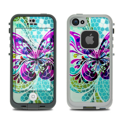 LifeProof iPhone 5S Fre Case Skin - Butterfly Glass