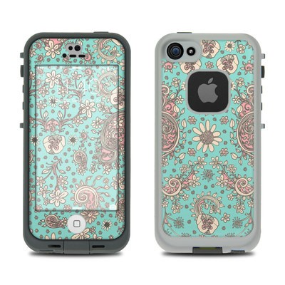 Lifeproof iPhone 5S Fre Case Skin - Birds Of A Flower