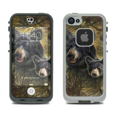 LifeProof iPhone 5S Fre Case Skin - Black Bears