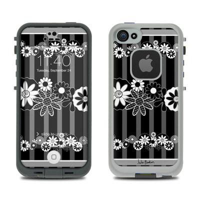 LifeProof iPhone 5S Fre Case Skin - Black Retro