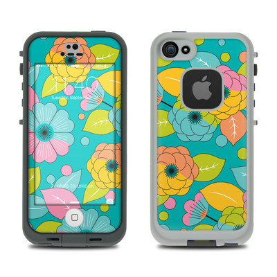 LifeProof iPhone 5S Fre Case Skin - Blossoms