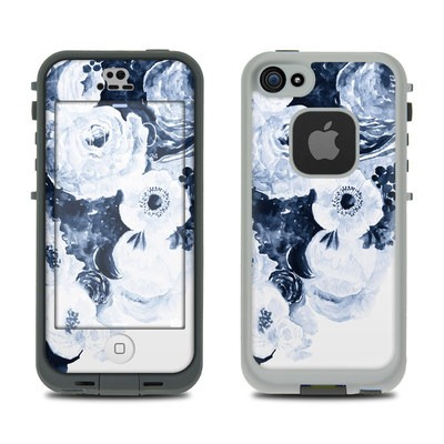 Lifeproof iPhone 5S Fre Case Skin - Blue Blooms
