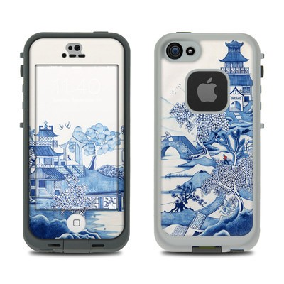 Lifeproof iPhone 5S Fre Case Skin - Blue Willow