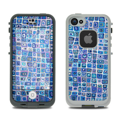 LifeProof iPhone 5S Fre Case Skin - Blue Monday