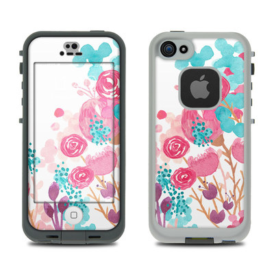 LifeProof iPhone 5S Fre Case Skin - Blush Blossoms