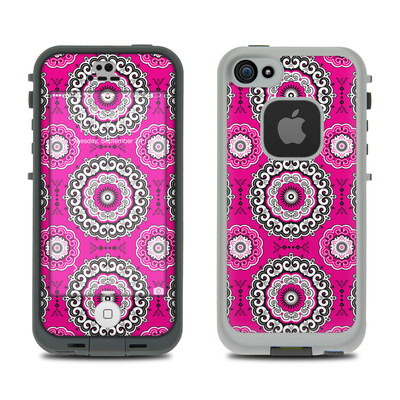 LifeProof iPhone 5S Fre Case Skin - Boho Girl Medallions