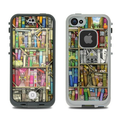 Lifeproof iPhone 5S Fre Case Skin - Bookshelf