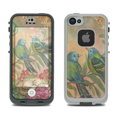 LifeProof iPhone 5S Fre Case Skin - Splendid Botanical