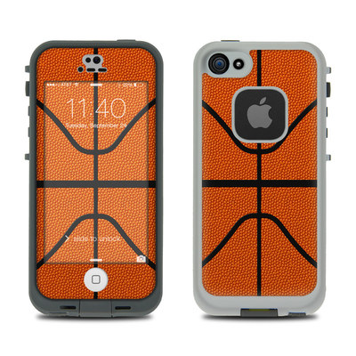 LifeProof iPhone 5S Fre Case Skin - Basketball