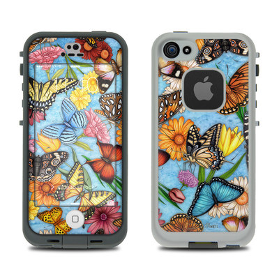 LifeProof iPhone 5S Fre Case Skin - Butterfly Land