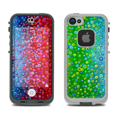 LifeProof iPhone 5S Fre Case Skin - Bubblicious