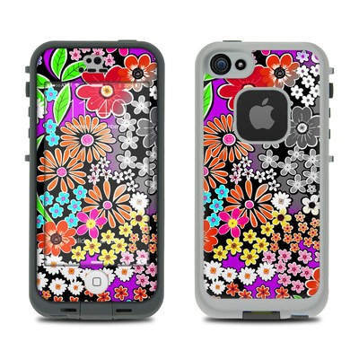 Lifeproof iPhone 5S Fre Case Skin - A Burst of Color