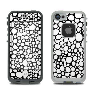 Lifeproof iPhone 5S Fre Case Skin - BW Bubbles