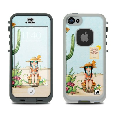 Lifeproof iPhone 5S Fre Case Skin - Cactus