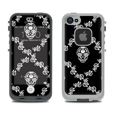 Lifeproof iPhone 5S Fre Case Skin - Calavera Lattice