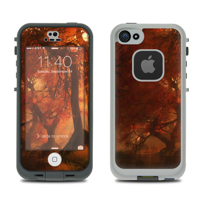 LifeProof iPhone 5S Fre Case Skin - Canopy Creek Autumn