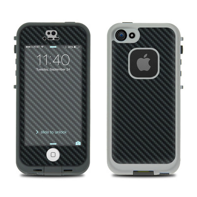 LifeProof iPhone 5S Fre Case Skin - Carbon