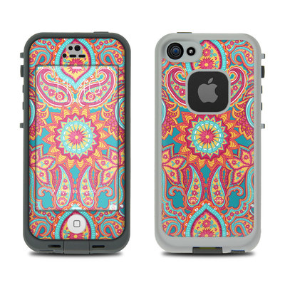 LifeProof iPhone 5S Fre Case Skin - Carnival Paisley