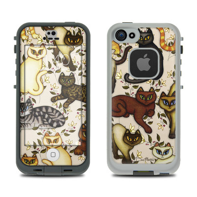 LifeProof iPhone 5S Fre Case Skin - Cats