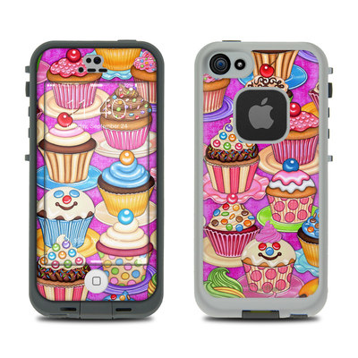 LifeProof iPhone 5S Fre Case Skin - Cupcake