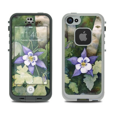 Lifeproof iPhone 5S Fre Case Skin - Colorado Columbines