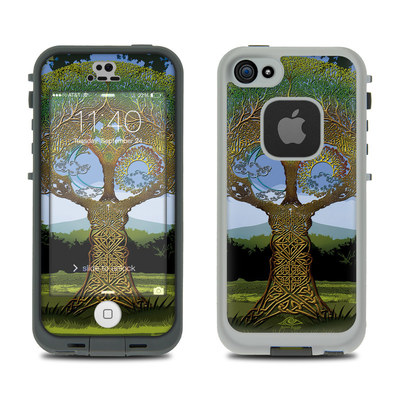 LifeProof iPhone 5S Fre Case Skin - Celtic Tree