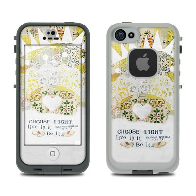 Lifeproof iPhone 5S Fre Case Skin - Choose Light