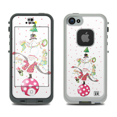 LifeProof iPhone 5S Fre Case Skin - Christmas Circus