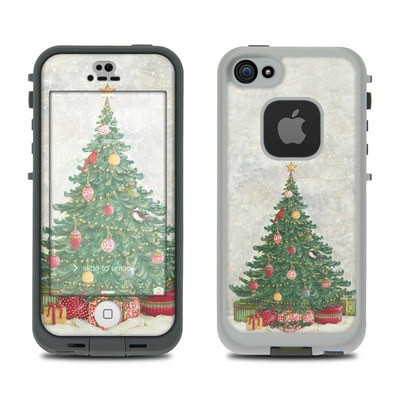 LifeProof iPhone 5S Fre Case Skin - Christmas Wonderland