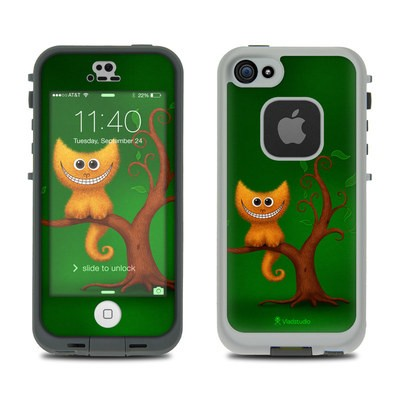 LifeProof iPhone 5S Fre Case Skin - Cheshire Kitten