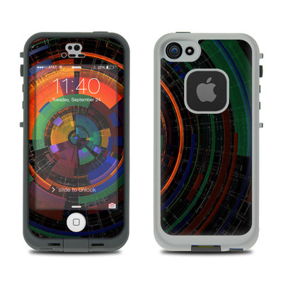 LifeProof iPhone 5S Fre Case Skin - Color Wheel