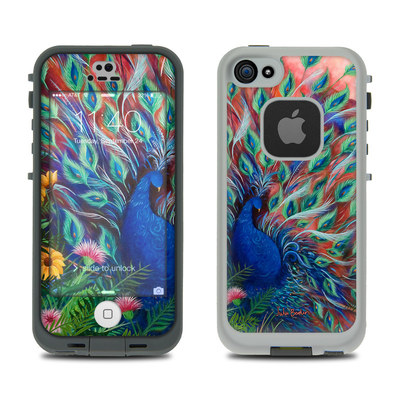 LifeProof iPhone 5S Fre Case Skin - Coral Peacock