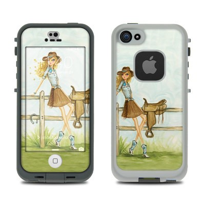 Lifeproof iPhone 5S Fre Case Skin - Cowgirl Glam