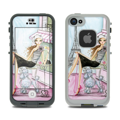 LifeProof iPhone 5S Fre Case Skin - Cafe Paris