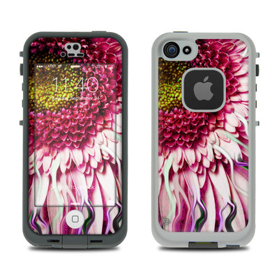 LifeProof iPhone 5S Fre Case Skin - Crazy Daisy