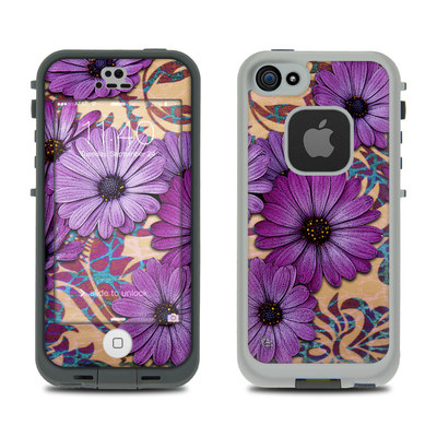 LifeProof iPhone 5S Fre Case Skin - Daisy Damask