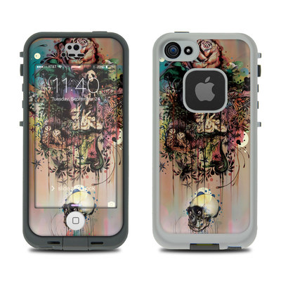 LifeProof iPhone 5S Fre Case Skin - Doom and Bloom