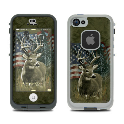 LifeProof iPhone 5S Fre Case Skin - Deer Flag