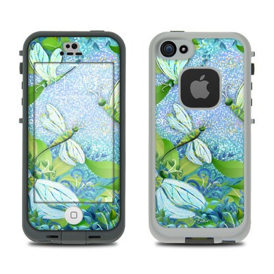 Lifeproof iPhone 5S Fre Case Skin - Dragonfly Fantasy